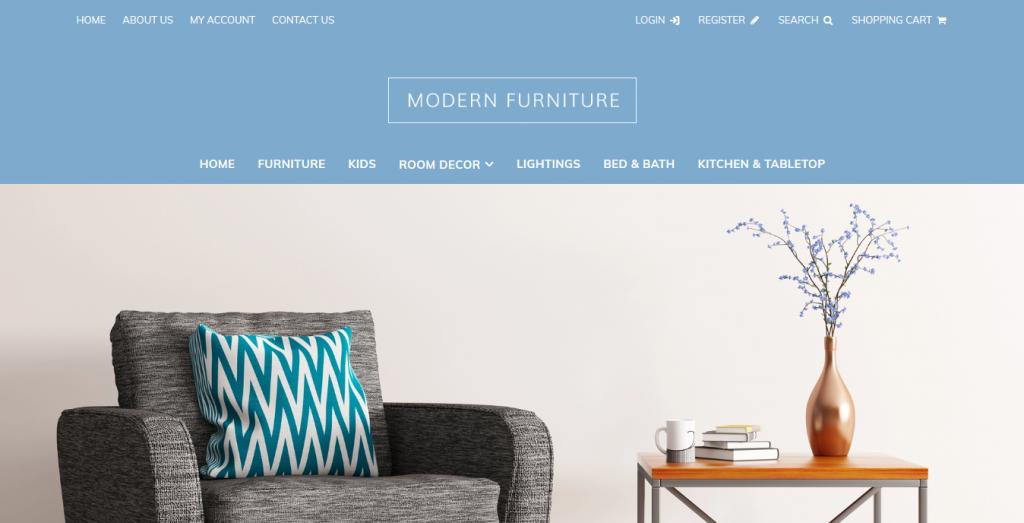 Mordern Furniture Free 3dcart theme