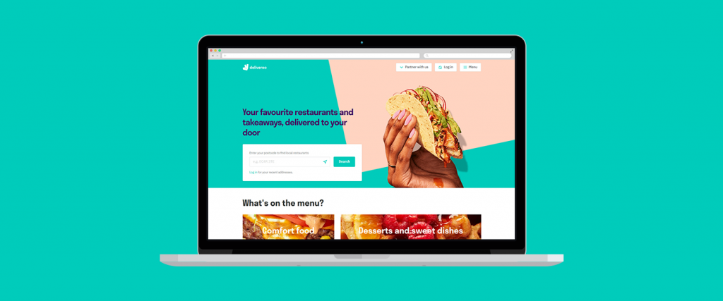 Deliveroo - Food delivery websites
