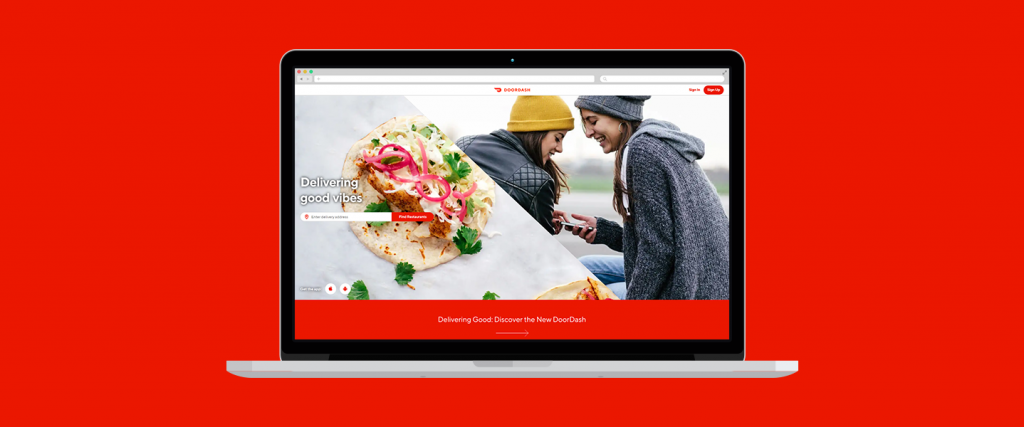 DoorDash - Food delivery websites