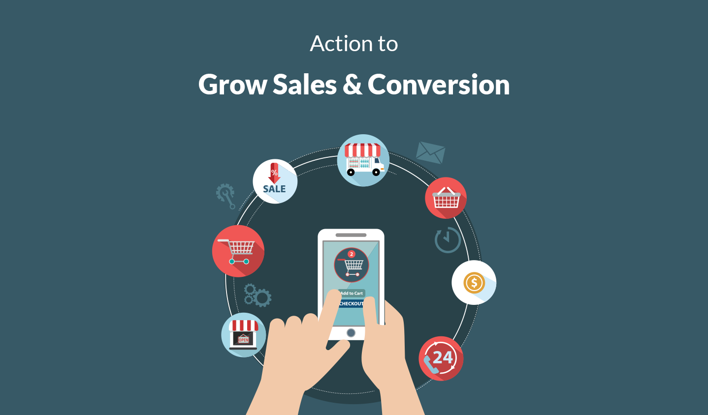 7 Minute Action to Grow your online Sales & Conversion