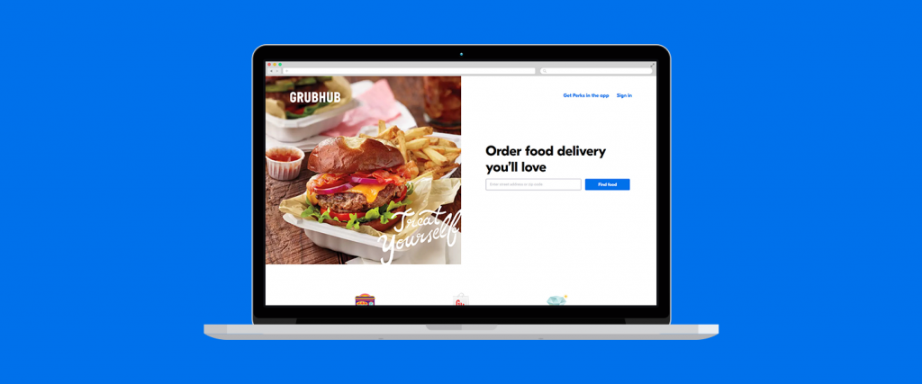 Grubhub Food delivery websites