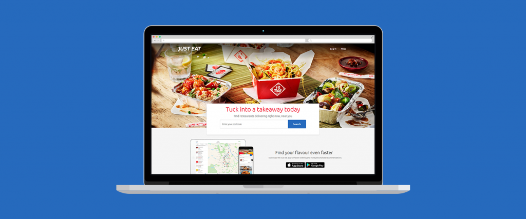 Just eat - Food delivery websites