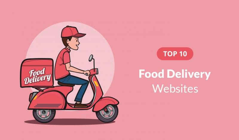 Top 10 Online Food delivery websites