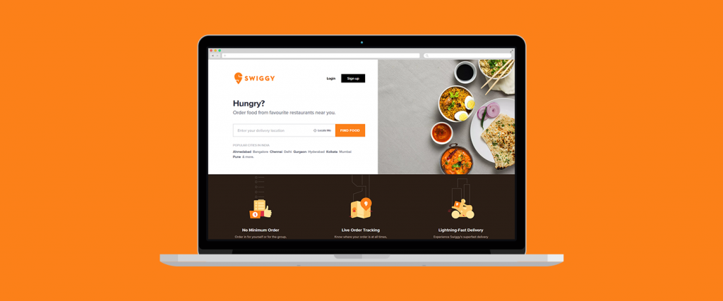 Swiggy - Online Food delivery websites