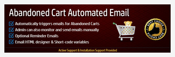 Abandoned Cart Emails | HuntBee