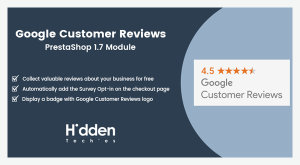 Google Customer Reviews | HiddenTechies