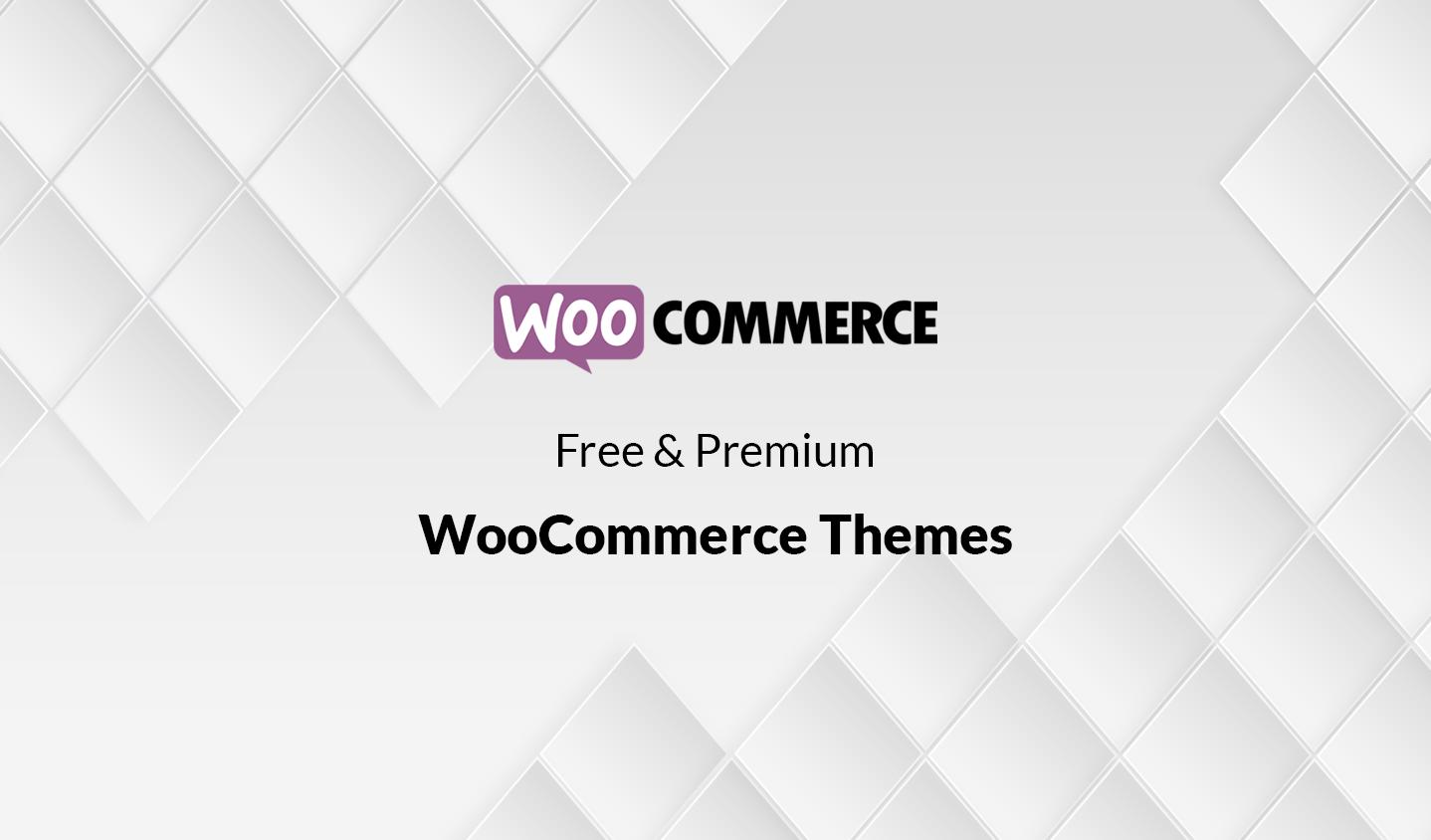 Free and Premium Responsive WooCommerce Themes