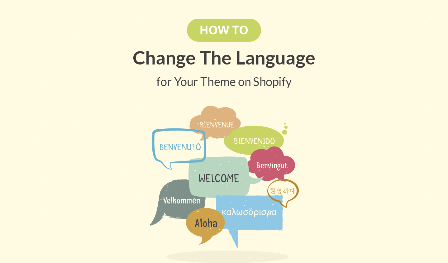 How to Change The Language for Your Theme on Shopify