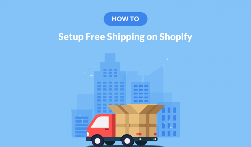 How to Setup Free Shipping on Shopify
