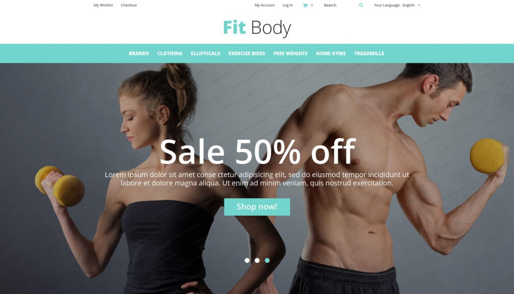 Fit Body - Fitness and Sports Magento 2 Themes