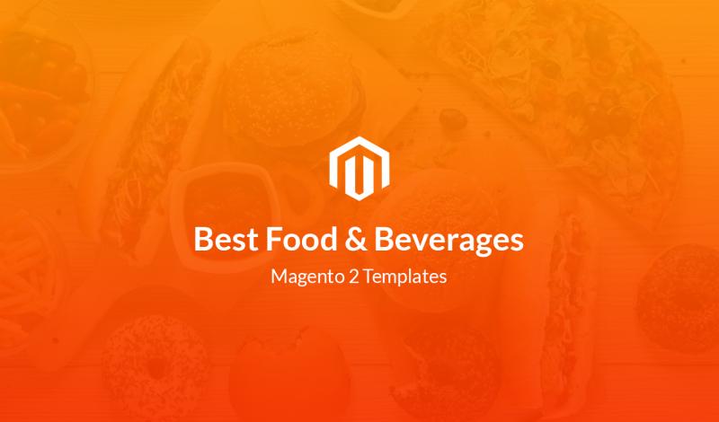 Best Food & Beverages Magento 2 Templates