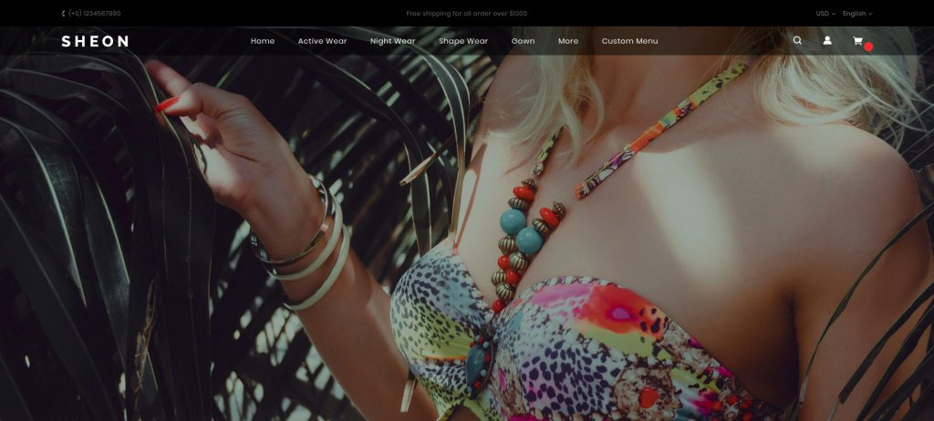 Sheon - Lingerie Magento 2 Themes