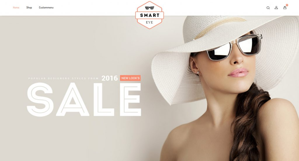 Smart Eye Glasses - Responsive Magento Theme