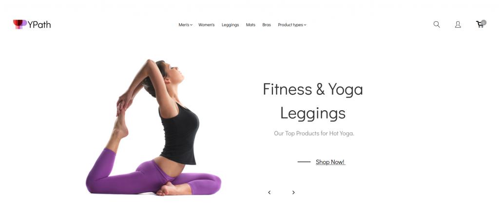 YPath - AMP Yoga Store Magento Theme