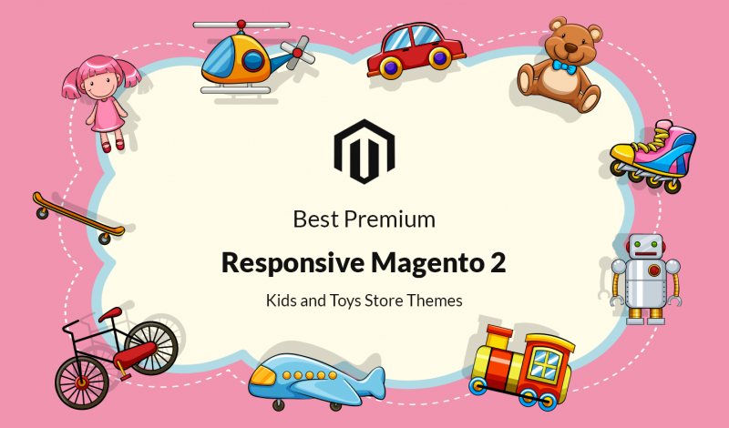 Best Premium Responsive Magento 2 Kids and Toys Store Themes