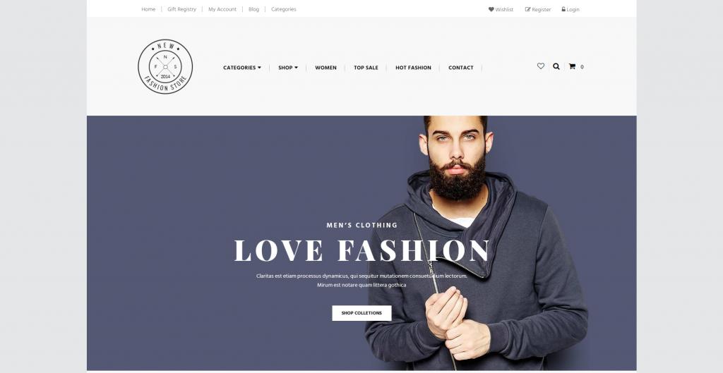Ap New Fashion 3dCart Theme