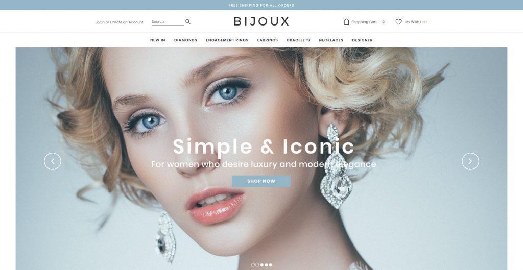 Bijoux 3dcart Theme