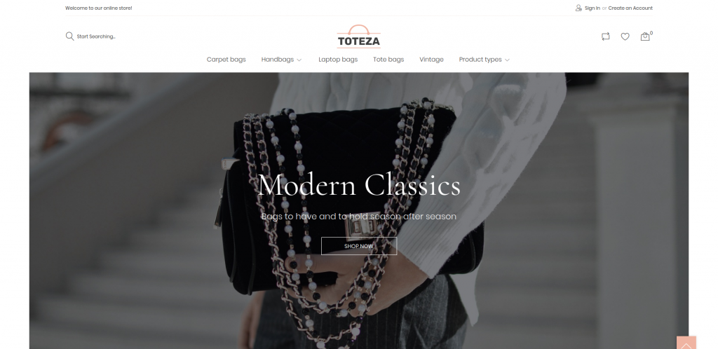 Toteza - Bags Store Template Magento Theme