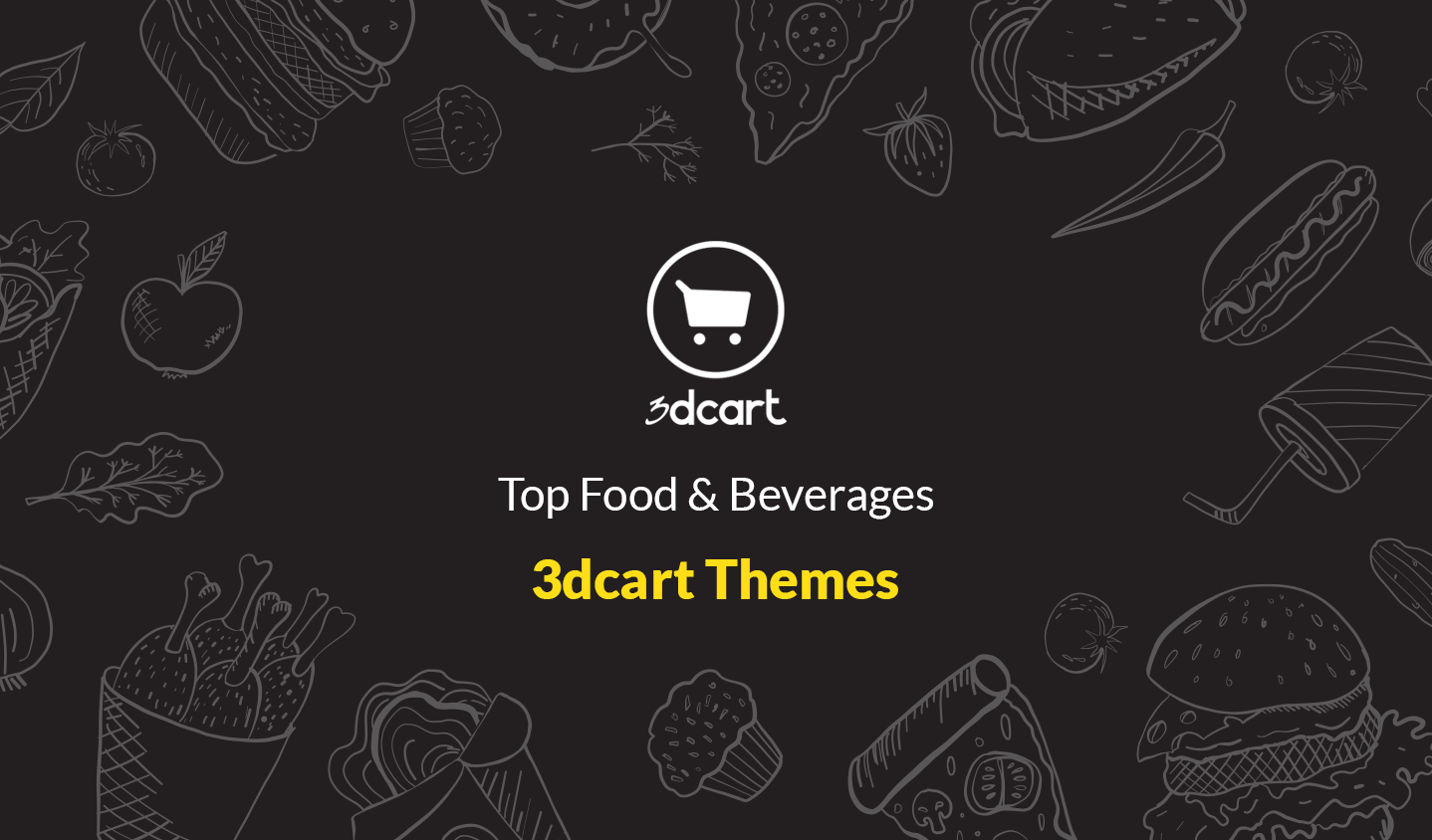 Top Food & Beverage 3dCart Themes