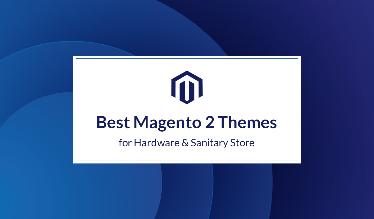 Best Hardware & Sanitary Magento 2 Themes