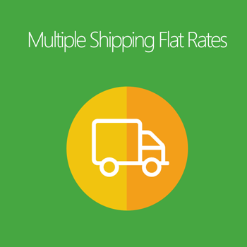 Magento 2 Multiple Shipping Flat Rates extension