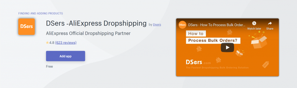 DSers - Finding And Adding Products Shopify App