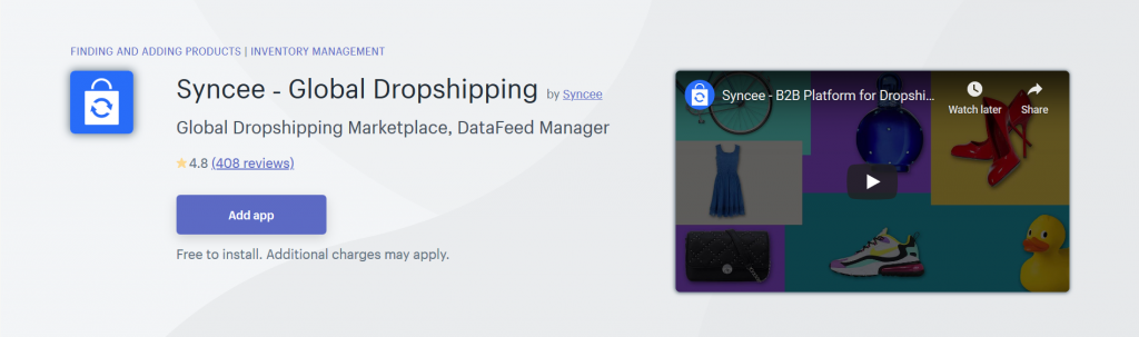 Syncee - Global Dropshipping