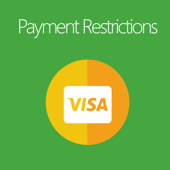 Payment Restrictions extension - Payment & Security Magento 2 Extension