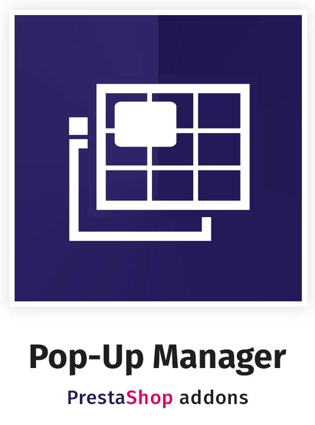 Pop-Up Manager - Promotions & Marketing PrestaShop Module