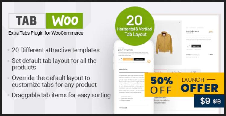 TabWoo - Enhancements WooCommerce Plugin
