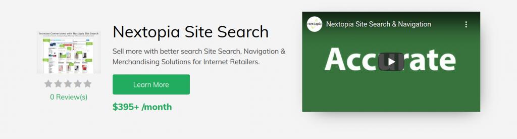 Nextopia Site Search