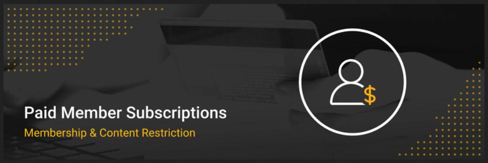Paid Member Subscriptions WordPress Plugin