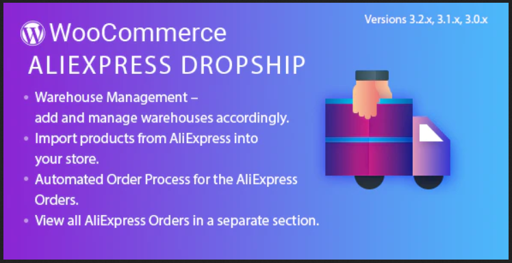 AliExpress Dropship - Third Party WooCommerce Plugin