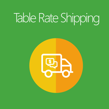 Table Rate Shipping for Magento 2