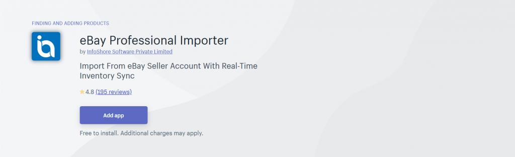eBay Professional Importer
