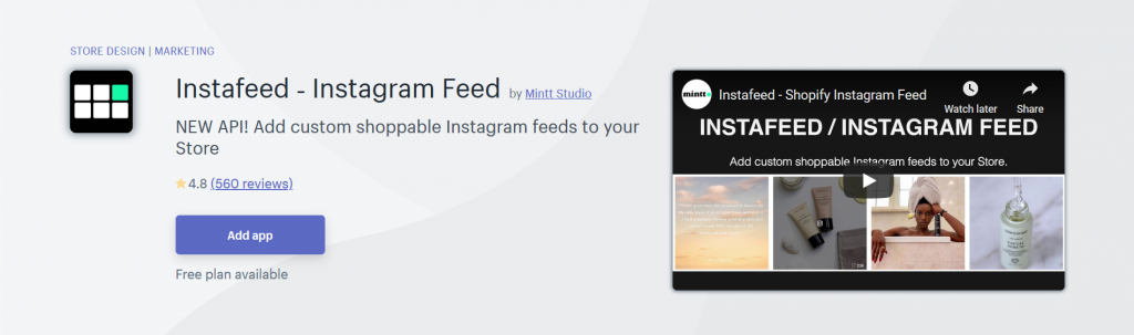 Instafeed ‑ Instagram Feed