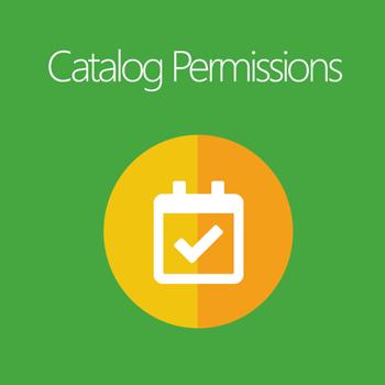 Catalog Permissions for Magento 2