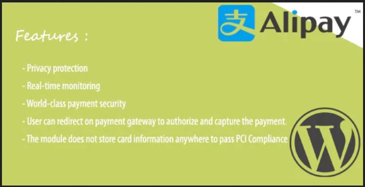 Alipay WooCommerce Plugin