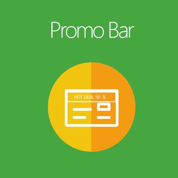 Promo Bar for Magento 2