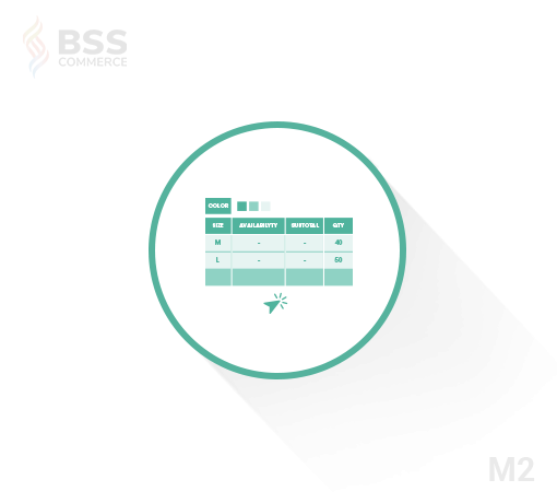 Magento 2 Configurable Product Wholesale Display