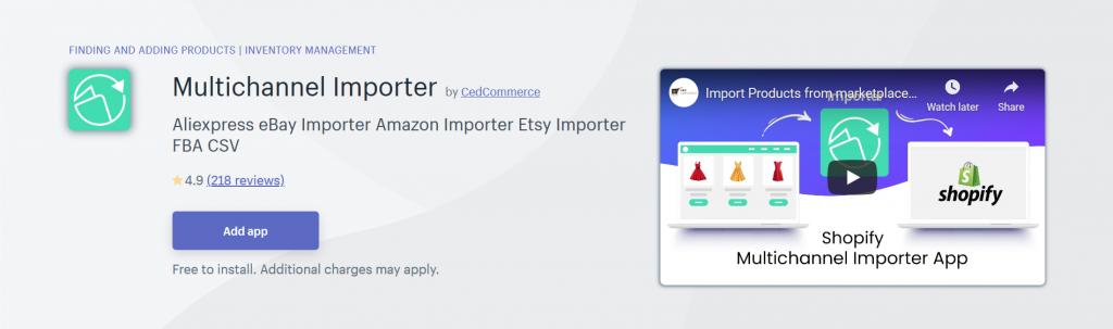 Multichannel Importer