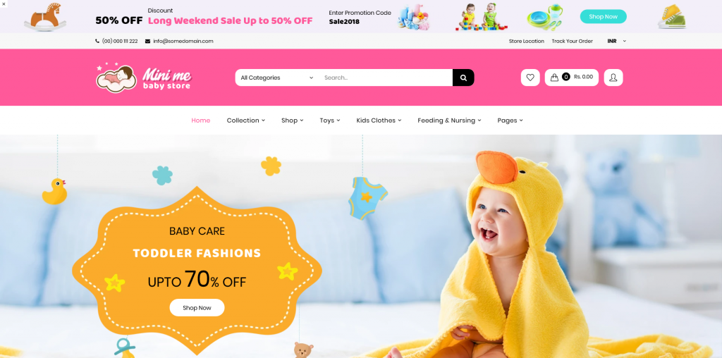 MiniMe - Kids and Toys Shopify Theme