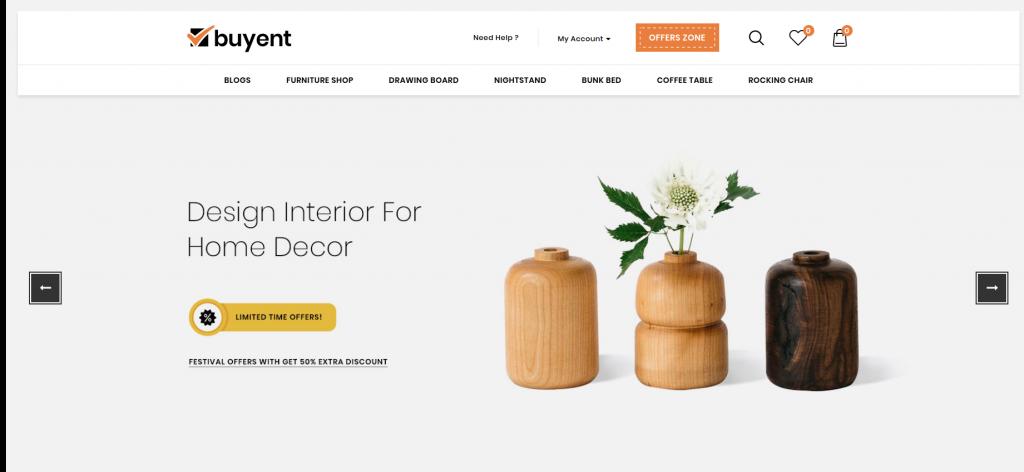 Buyent - Furniture OpenCart Theme