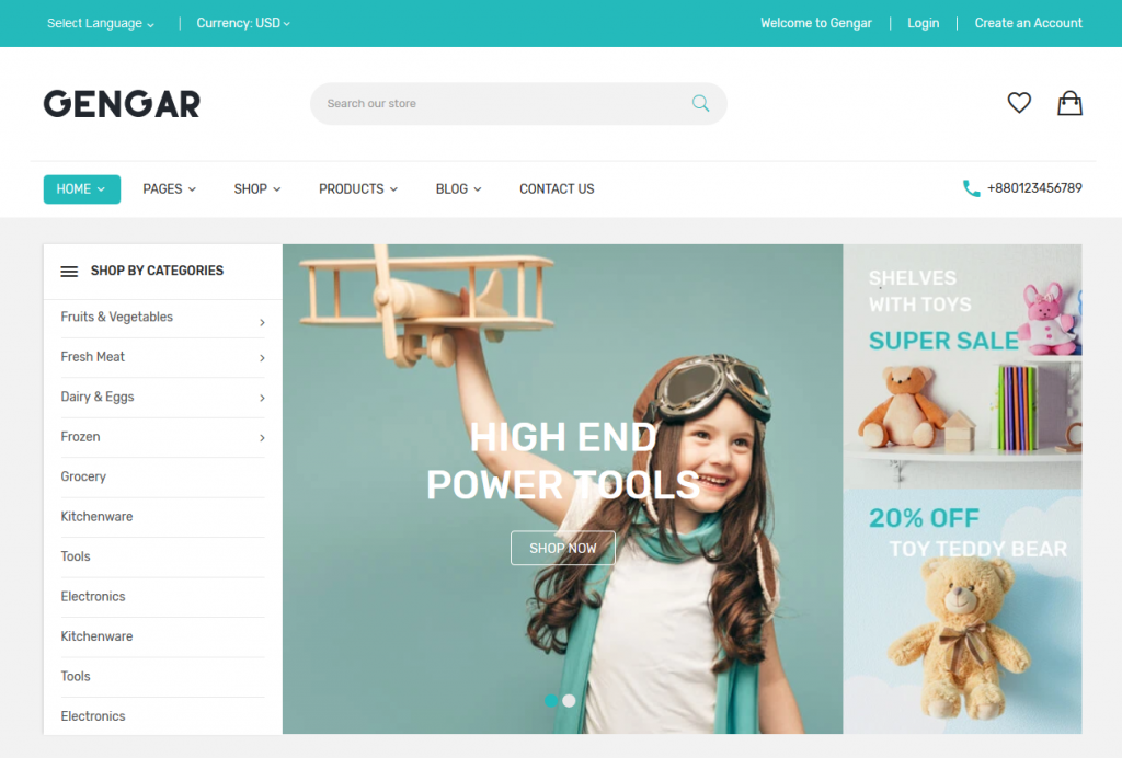 Gengar - Kids and Toys Shopify Theme