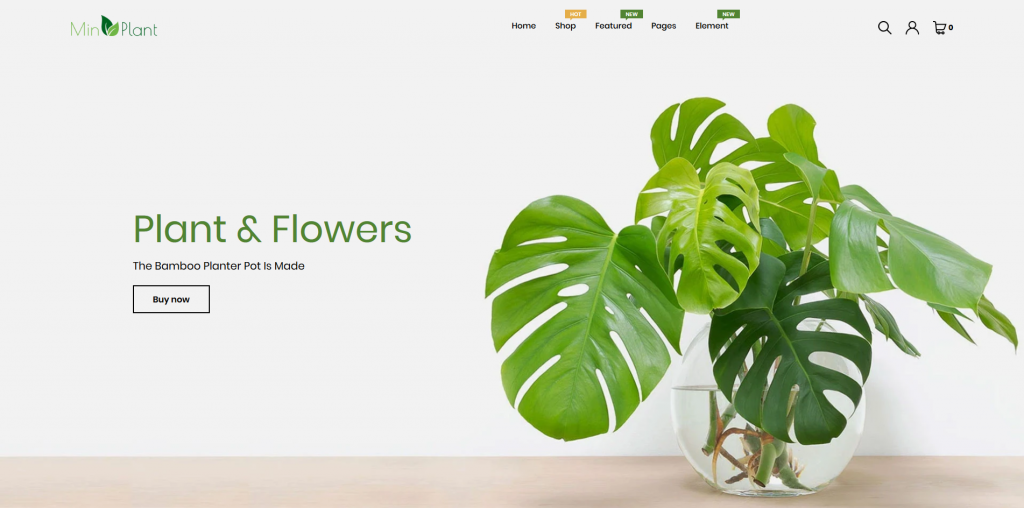 MinPlant - Home & Garden Shopify Theme