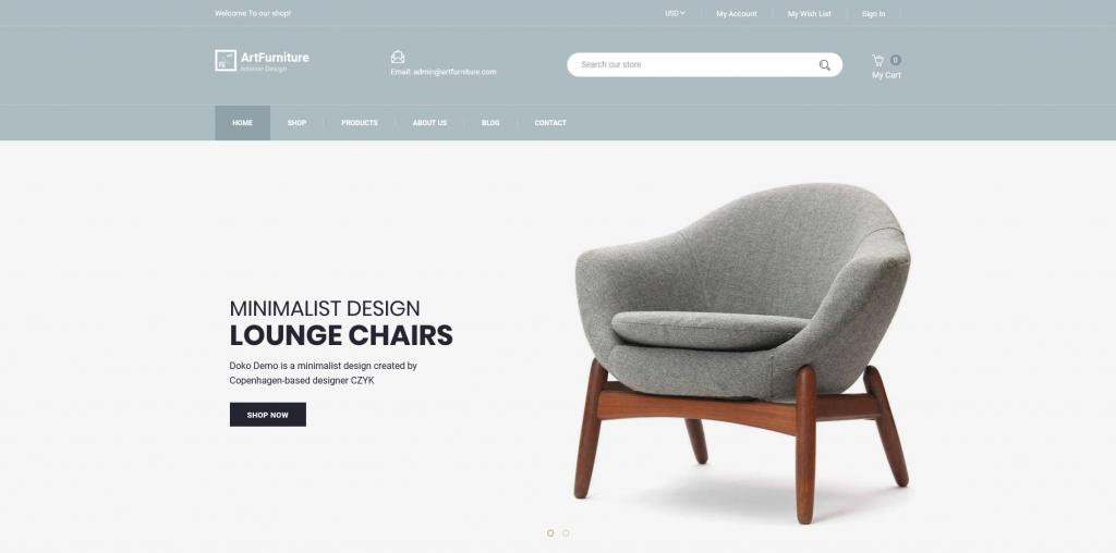 ArtFurniture - Furniture Shopify Theme