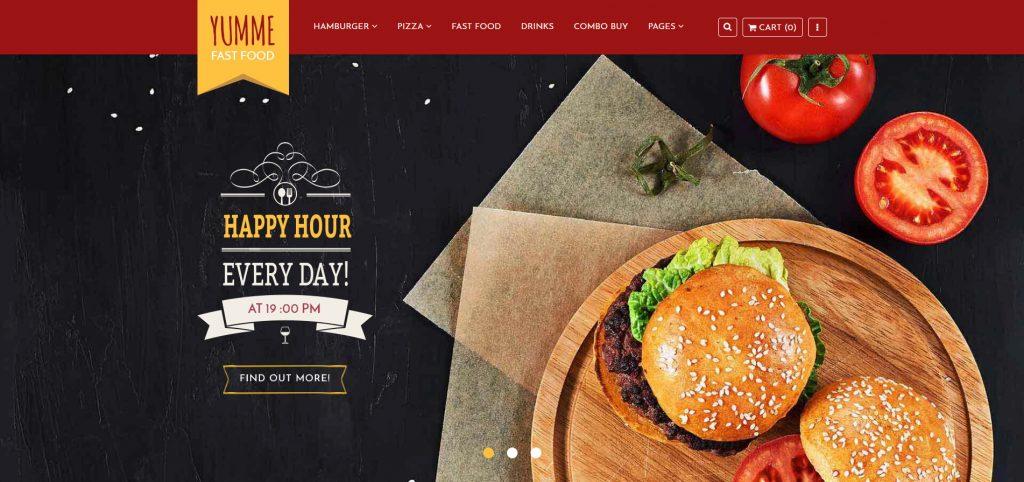 Yumme - Food & Drink Shopify Theme