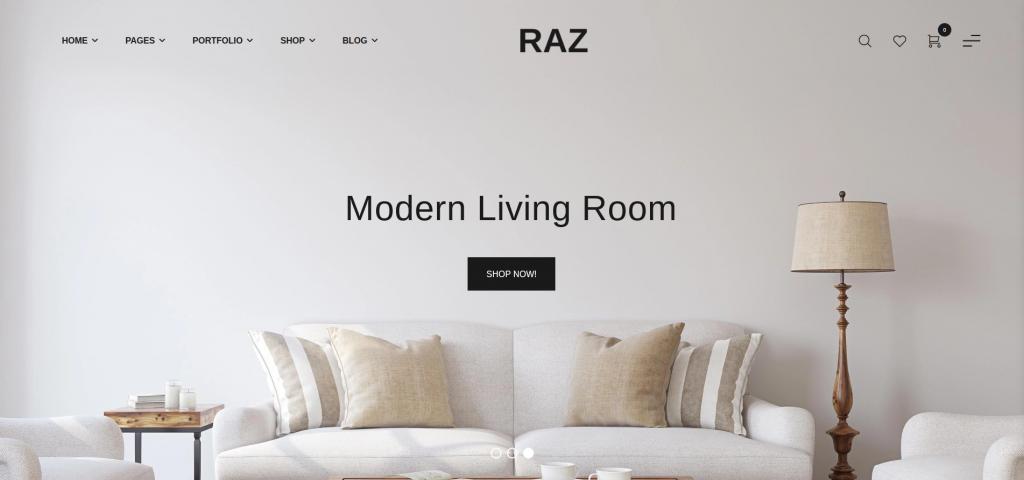 Raz - Furniture Shopify Theme