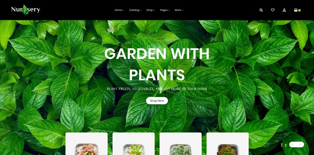 Nursery Plant Shopify Theme