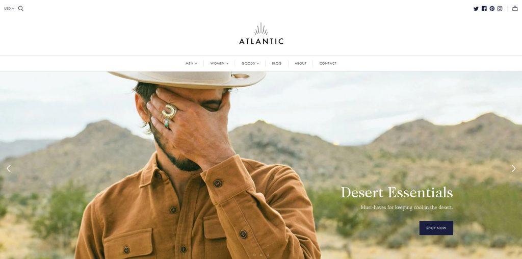 Atlantic Shopify Theme